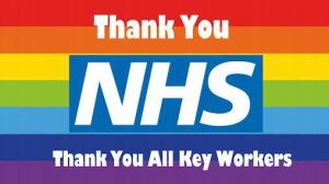 Thank you NHS Key Workers banner