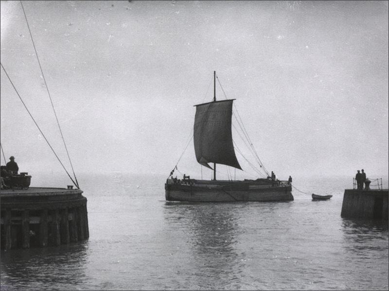 Vintage photo of a Keel
