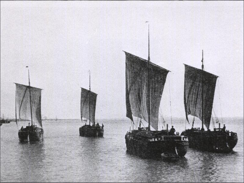 Vintage photo of some Keels